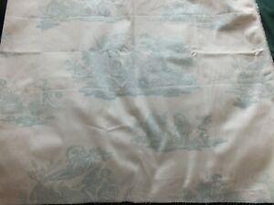 Vintage Laura Ashley Fabric  - Toile Topaz 94cm x 77cm