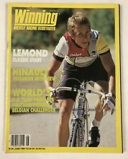 Vintage June 1986 Winning Cycling Bicycle Racing Illustrated Magazine Issue #35