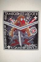 TAMEGONIT 147 2-PATCH GAME OF THRONES GREY 100TH OA 2015 NOAC FLAP IRON THRONE