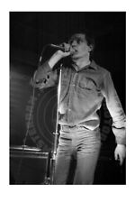Ian Curtis (#5), Joy Division, Paradiso, Amsterdam, '80 - signed by photographer