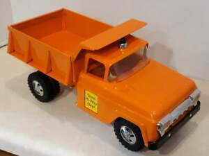 Just-Completed RESTORED 1958 TONKA STATE HI-WAY DEPT DUMP TRUCK - $25 Shipping.