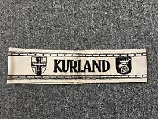 Germany/German WWII 'Kurland' cuff title