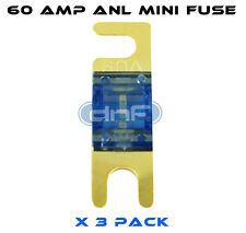 DNF (3 PACK) ANL MINI FUSE 60 AMP - FREE SAME DAY SHIPPING!