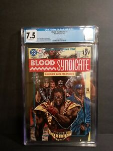 BLOOD SYNDICATE 1 7.5 CGC