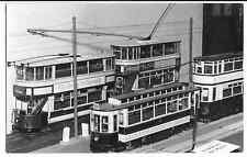 Vintage Photo of Model Tram Layout on Display, PC Size