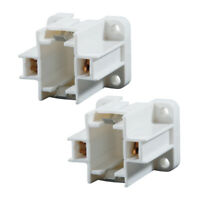 1 PC 2-Pin G23 G23-2 CFL Socket Vertical Screw Down Mount For 9W Twin Tube Lamps
