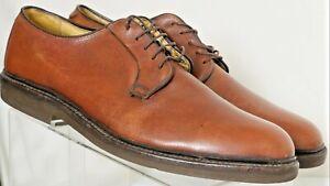 Barrie LTD Booters 5 Eyelet Plain Toe Pebbled Oxfords Shoes UK 10 Men's US 10.5