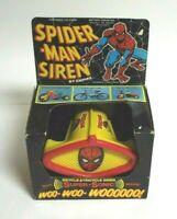 Vintage Empire Marvel Comics Group Spiderman Bike Bicycle Siren NIB Rare 1978