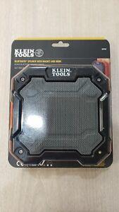 Klein Tools AEPJS3 With Magnet and Hook Wireless Bluetooth Speaker - Black/Orang