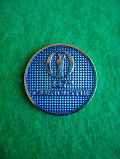 2018 British Open 147th Carnoustie Golf Ball Marker Metal Coin Angus Scotland Uk