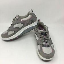 Skechers Shape Ups Toning Walking Shoes Women's Size 7.5 (SN 11806) Gray Pink
