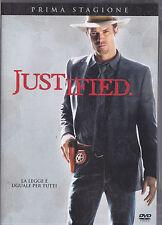 JUSTIFIED prima stagione - DVD