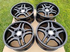 Mercedes AMG OEM black Wheels Rims W201 W202 W124 W208 W209 R170 R171 BRABUS