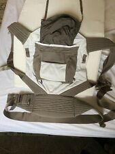 Onya Baby Carrier (pre-owned) Brown And Cream Color