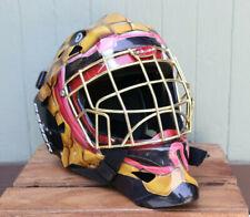 Bauer Senior Profile 1400 Hockey Goalie Mask Helmet Snake Cobra Design