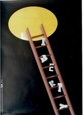 Original vintage poster HUMAN RIGHTS PROPAGANDA 1989 Chwast