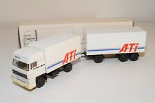 ± LION CAR DAF 3600 SPACECAB TRUCK WITH TRAILER ATI DAF TRUCKS N MINT BOXED