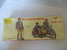 Heller Eschelle Moto Gnome-Rhone et side-car #420 1/35 SEALED made in France