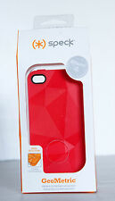 Speck Red GeoMetric iPhone 4 4s cover