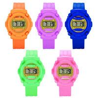 Digital Armbanduhr Jungen Mädchen Digitaluhren Elektronische Silikon Band g/s