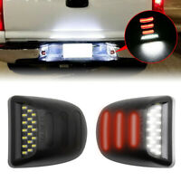 LED License Plate Light Lamp For 1999-2013 Chevy Silverado Avalanche Bright SMD