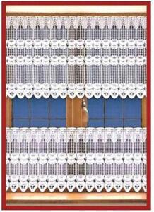 Net Curtain Kitchen Window Cafe Curtain Short Lace Curtains Farmhouse Valance