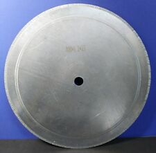 "16"" THK /GreenForest ThinCut Notched Diamond Rock Saw Blade Lapidary Agate Eater"