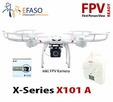 Quadcopter MJX X101A FPV HD-Kamera C4018 One key return, LED Beleuchtung
