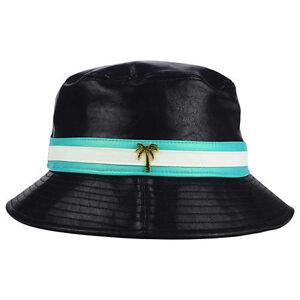 BLVD Supply Inc PU Bucket Hat Cap Floppy Fashion Lifestyle Urban Street Hip Hop