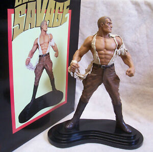 DOC SAVAGE 2009 Limited Edition Statue #138/1000 ReelArt Studios Tony Cipriano