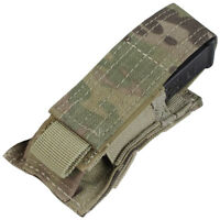 New Multicam Bulle MOLLE Webbing Adjustable Height Double Rifle Mag Pouch