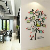Family Photo Frame Tree 3D Assembly Design Living Room Vintage Wall Art Decor