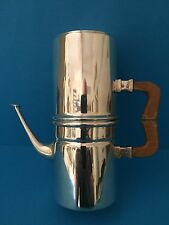 Rare 800 Silver Naples Coffee Pot - Cafetiere Napoletano