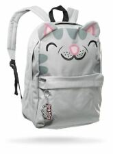 NEW BIG BANG THEORY LICENSED SOFT KITTY SCHOOL WORK BACKPACK BOOK BAG + KEYCHAIN