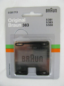 original Braun Scherfolie 383 Scherblatt 5001713 sixtant 8008 5381 5383 5550 OVP