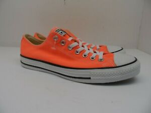 Converse Men's All Star Chuck Taylor Low 155736F Casual Shoes Hyper Orange 10M