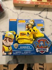 Paw Patrol Rubble's Digg'n Bulldozer works with Patroller New