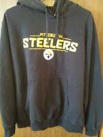 Pittsburgh Steelers Men Size X-Large Pullover Hoodie Sweatshirt NFL Team Apparel