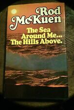 ROD McKUEN - THE SEA AROUND ME SIGNED & DOODLED 1ST EDITION 1976