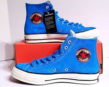 Converse Chuck 70 HI Blue Hero Suede High Top Shoes 162370C Mens Size 9.5 31c339044