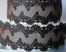 Dark Braun SUGAR LACE Ribbon 1x Strips 11.25''x3.5'' (28cmx8.5cmHandmade