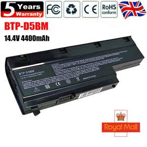 BTP-D5BM Battery for Genuine Medion Akoya E7212 E7214 P7611 E7216 BTP-D4BM 14.4V