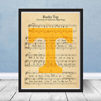 University of Tennessee Volunteers Logo Rocky Top Fight Song SEC Vols Gift Music
