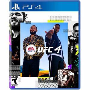 UFC 4 PS4/5 SEALED!