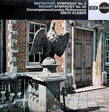 ECS 518 Beethoven Symphony 5 Mozart Symphony 40 Erich Kleiber NM/EX Decca