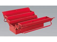 SUPER DEAL SEALEY TOOLS AP521 RED 530mm CANTILEVER METAL TOOLBOX