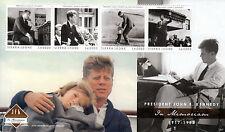 Sierra Leone 2013 MNH John F Kennedy 50th Mem 4v M/S JFK US Presidents Stamps