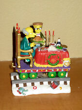 Hamilton Simpsons Christmas Express Train: A Feast for One Burns & Smithers