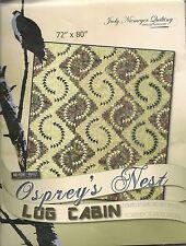 Osprey Nest Log Cabin Paper Piecing pattern by Judy Niemeyer