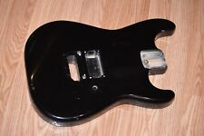 Fender Contemporary Stratocaster Body Japan Made Strat Black 1986